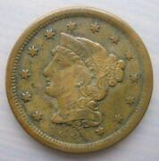 1854 One Cent