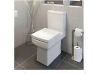 Affine Royan Space Saving Close Coupled Toilet & Soft Close Seat