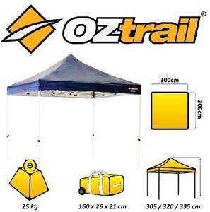 Oztrail 3x3mt Deluxe Gazebo / Market Tent Dicky Beach Caloundra Area Preview