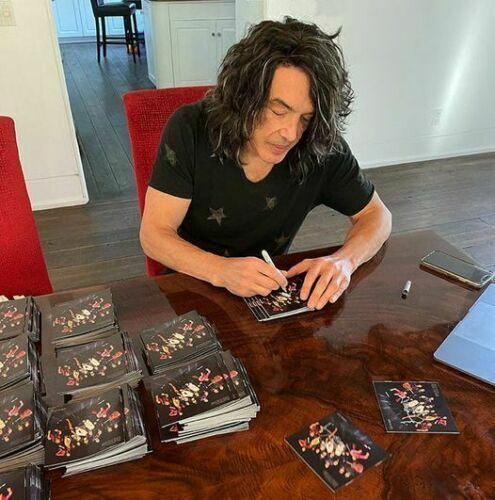PAUL STANLEY SIGNED SOUL STATION NOW AND THEN CD KISS IN HAND READY TO SHIP