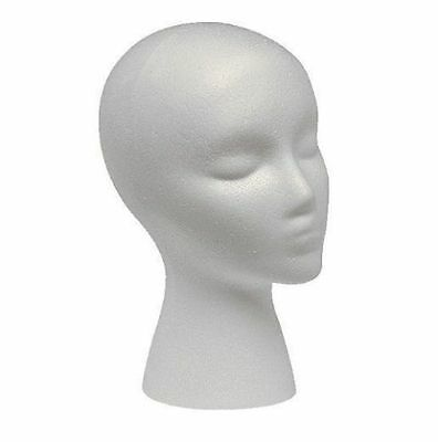 Kyпить Polystyrene Female Display Mannequin Head Dummy Wig Stand на еВаy.соm