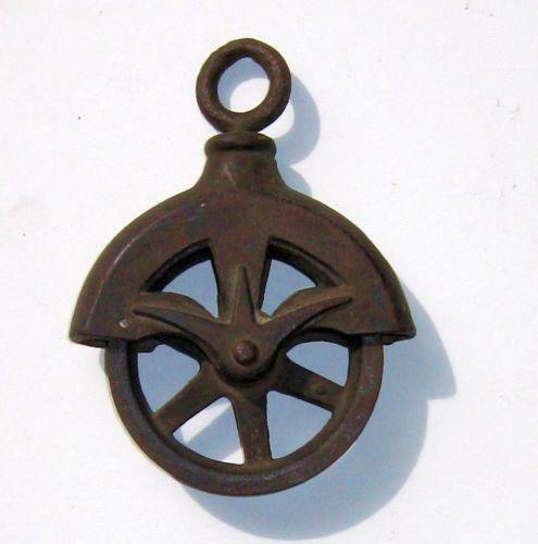 Barn pulley ebay for Uses for old pulleys