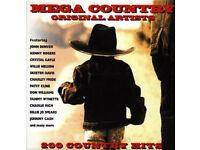 Mega Country (10 CD) Box Set - Original Artists - Just £2