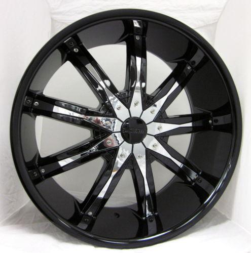 ford 22 inch wheels ebay. Black Bedroom Furniture Sets. Home Design Ideas