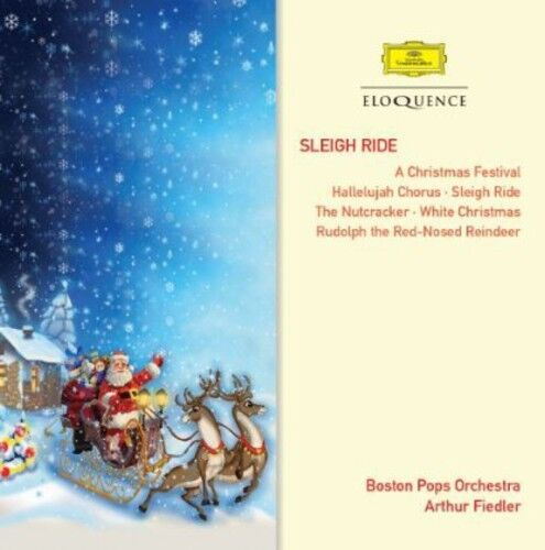 Boston Pops Orchestra, Arthur Fiedler - Sleigh Ride [New CD]