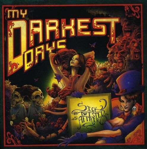 My Darkest Days - Sick & Twisted Affair [New CD]