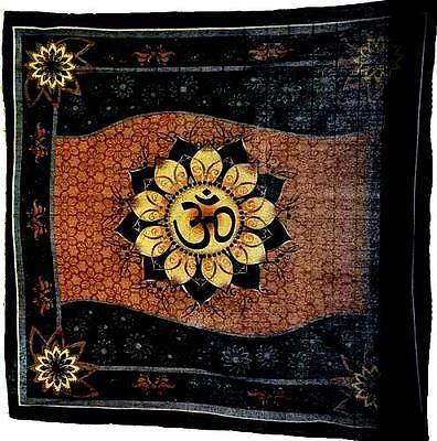 """Om Lotus Altar/Tarot Cloth - 36"""" x 36"""""""