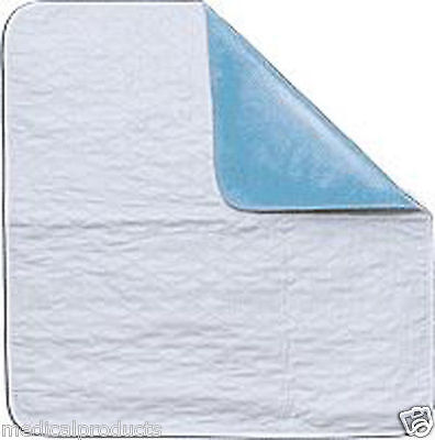 6 NEW 34 x 36 Quilted PVC Backing Reusable washable dog training puppy pee pad Quilted Back Pad