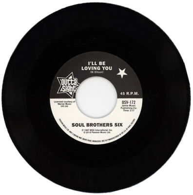 SOUL BROTHERS SIX/ WILLIE TEE I'll be loving you-walking up a one way st OSV172