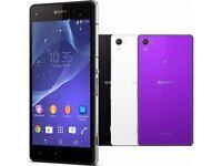 sony xperia z2 smartphone series unlock/lock, uk spec