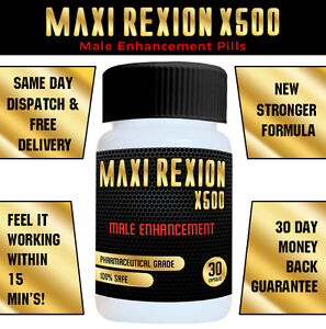 MaXi ReXion X500 - Penis Enlargement Male Enhancement Sex Libido Virility Pills
