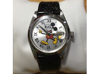 Rolex Oysterdate Precision 6694 Manual Wind Movement With Mickey Mouse Dial! 34mm Stunning!