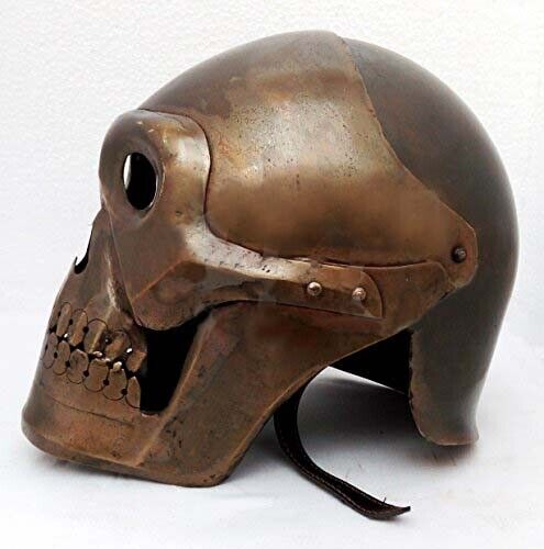 Medieval Skeleton Armour Helmet Viking Mask Spectacle Roman knight helmets