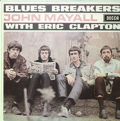 John Mayall   Blues Breakers With Eric Clapton  New Vinyl Lp  Uk   Import
