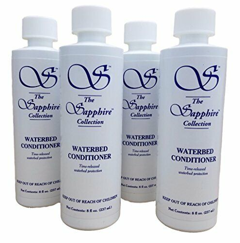 4 8oz Bottles Blue Magic Waterbed Conditioner Sapphire