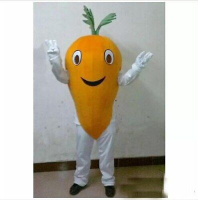Carrot Mascot Costume Suit Cosplay Party Game Dress Outfit Advertising Halloween - Carrot Costume Halloween