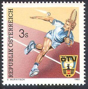 Austria 1982 Lawn Tennis Association/Sports/Games/Player/Animation 1v (n23139)