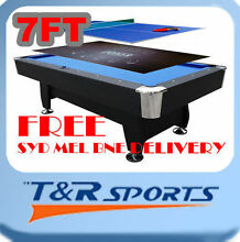 NEW!7FT POOL TABLE SNOOKER BILLIARD;RELOCATION CLEARANCE! 60% OFF Campbellfield Hume Area Preview