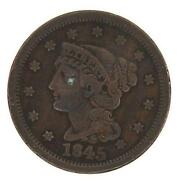 1845 One Cent
