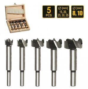 Taladro-Forstner-Parte-5-piezas-15-20-25-30-35-mm-Forstner-Madera-Broca