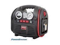 Details about BOXED POWERSTATION PSX3 BATTERY JUMPSTARTER WITH BUILT IN LIGHT AND COMPRESSOR