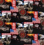 Marine Corps Fabric