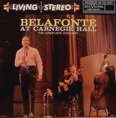 * LIVING STEREO - LSO-6006 - HARRY BELAFONTE - LIVE AT CARNEGIE HALL - 180 GR *
