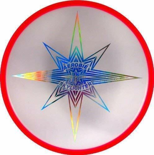 Aerobie Skylighter Frisbee LED Light Glow Flying Disc Arobie