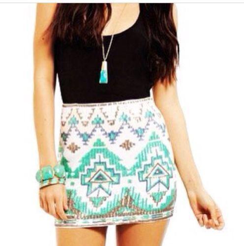 Aztec Skirt Ebay