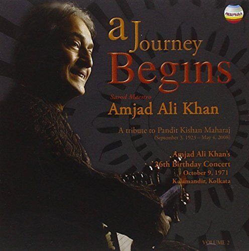 Amjad Ali Khan - A Journey Begins Vol2  A Tribute to Kishan Maharaj (2CD)