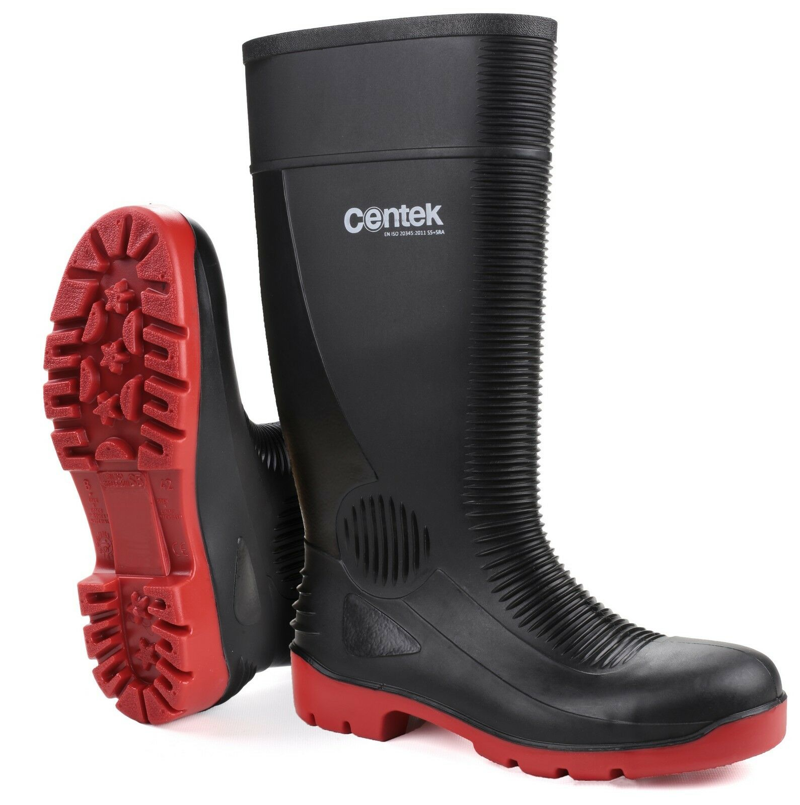 Amblers Safety Men FS100 Safety Wellington Wellies Boot PVC Upper Footwear Black