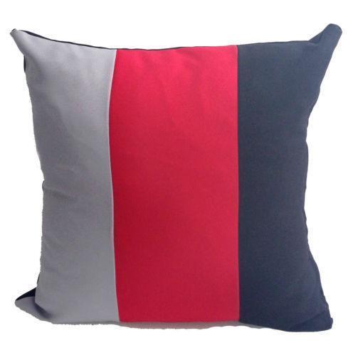 Black Grey Red Cushions Ebay