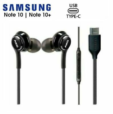 Samsung Galaxy Note 10 AKG USB-C Headphones Wired Type C Earbuds OEM Note10 Plus