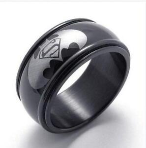 Batman ring ebay for Mens batman wedding ring