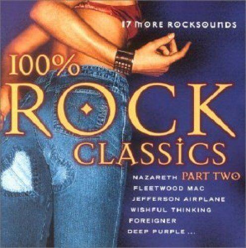 100% Rock Classics 2 (17 tracks) Deep Purple, Nazareth, Jefferson Airplan.. [CD]