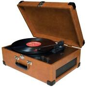 Portable Record Player Turntable