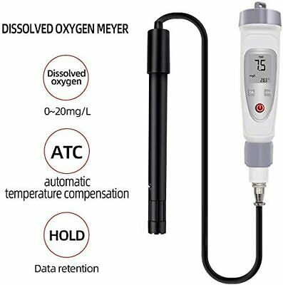 Water Quality Monitor Dissolved Oxygen Meter Pen Type Do Meter Tester 20.0 Mgl