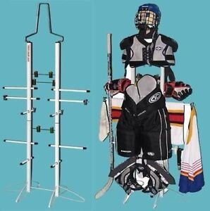 """""""Wet Gear"""" sports equipment rack for drying / storage"""