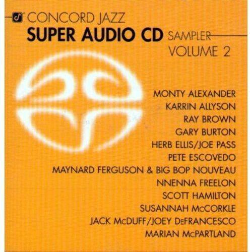 Various Artists - Concord Jazz Super Audio Cd Sampler, Vol. 2 [New SACD]