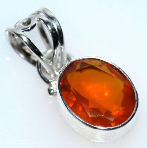 Mexican Fire Opal Pendant Ebay