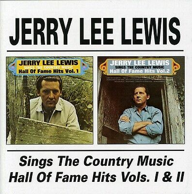 Jerry Lee Lewis   Sings The Country Music Hall Of Fame Hits 1   2  New Cd