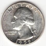 1959 Silver Washington Quarter