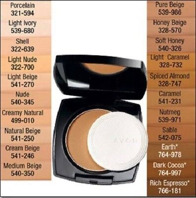 Avon True Color Flawless Cream to Powder Foundation - You Choose (Flawless Foundation)