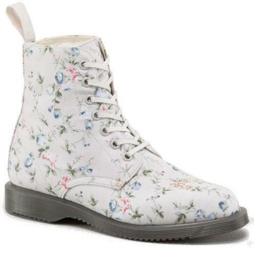 Floral doc martins boots ebay mightylinksfo Image collections