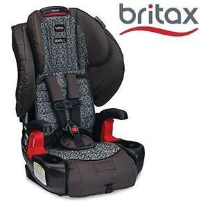 NEW BRITAX PIONEER CAR SEAT HARNESS-2-BOOSTER CAR SEAT - SILVERCLOUD 110373648