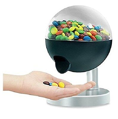 One Touch Candy Dispenser Machine Sweet Gumball Nut Snack Party Fun Home For Kid