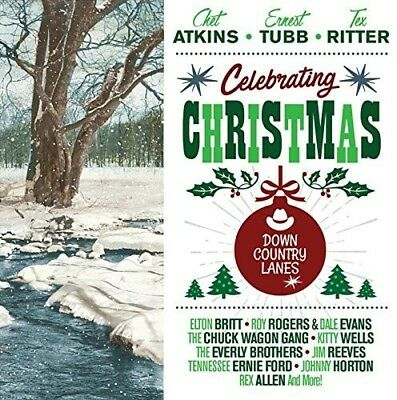 Various Artists - Celebrating Christmas: Down Country Lanes / Various [New CD] U