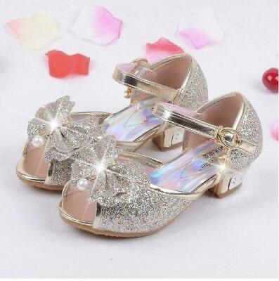 Children Princess Sandals Kids Wedding High Heels Dress Party Shoes For Girls - High Heels Shoes Kids