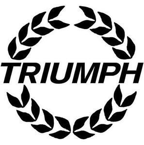 Triumph Stickers Vehicle Parts Accessories EBay - Motorcycle stickersmotorcycle stickers ebay