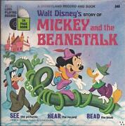 Mickey and The Beanstalk Record